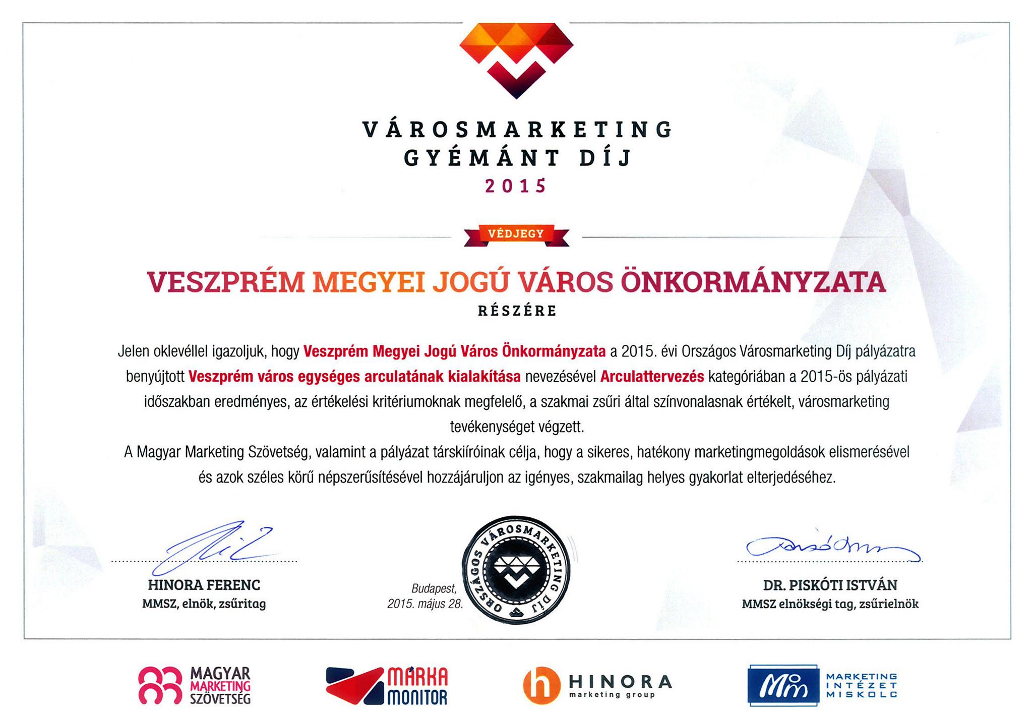 _Városmarketing-díj 2015