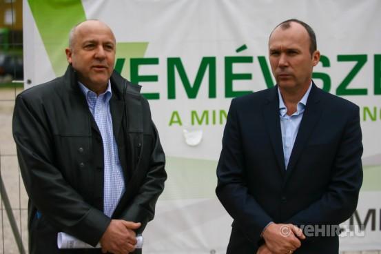 Szücs István és Porga Gyula